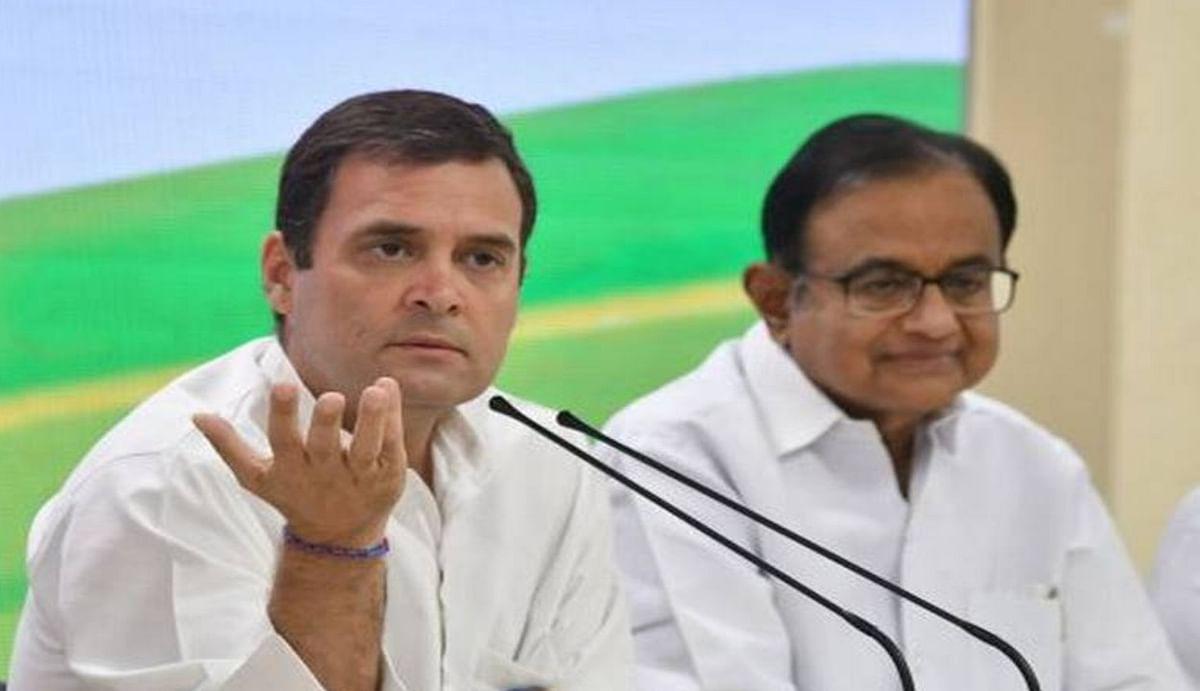 राहुल गांधी ने फिर उठाई कृषि कानूनों को रद्द करने की मांग, चिदंबरम ने केंद्र सरकार पर साधा निशाना