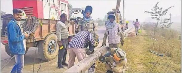 बिहार के इस शहर में जल्द खत्म होगी LPG सिलेंडर की परेशानी, सड़क किनारे पाइप बिछाने का काम शुरू