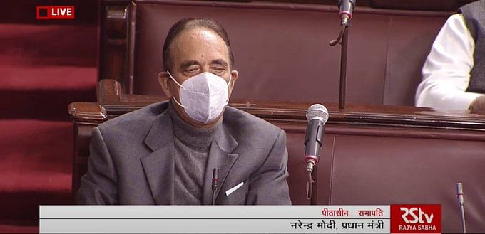 Rajya Sabha : मुझे हिंदुस्तानी मुसलमान होने पर गर्व है, अपने विदाई भाषण के दौरान बोले गुलाम नबी आजाद