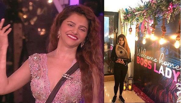 Bigg Boss 14 की विनर Rubina Dilaik का कुछ इस तरह से हुआ घर में वेलकम, पति Abhinav Shukla ने दिया सरप्राइज, Video Viral