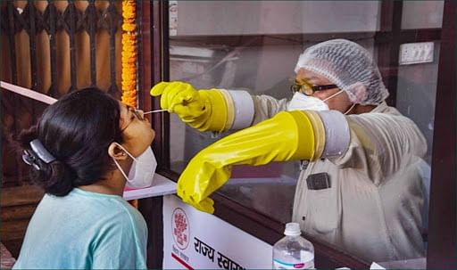 Coronavirus in Bihar : बिहार में 1.35 लाख सैंपलों की जांच में मिले 6286 नये केस, संक्रमण दर घट कर हुई 4.65 प्रतिशत