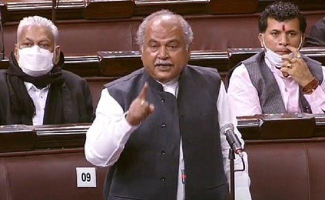 Rajya Sabha Proceeding : कृषि मंत्री नरेंद्र सिंह तोमर बोले- खून से खेती कांग्रेस कर सकती है, बीजेपी नहीं