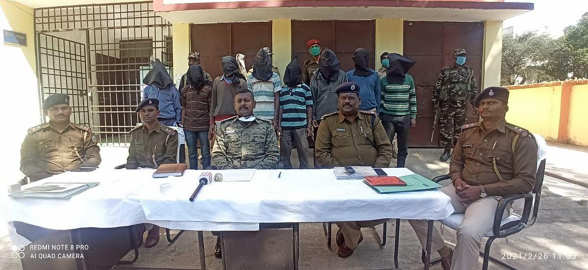 झारखंड के गुमला में नरसंहार का पुलिस ने किया खुलासा, आठ आरोपी गिरफ्तार, टांगी भी बरामद, पढ़िए ये है वजह