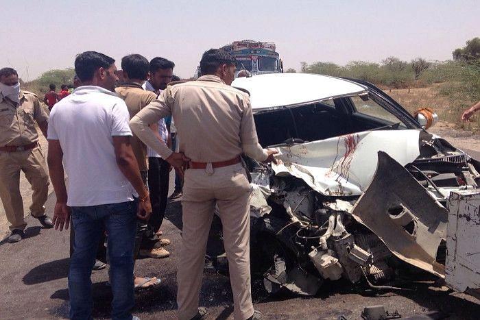 Rajasthan में रफ्तार का कहर, अलग-अलग सड़क हादसों में दो बच्चों सहित 9 की मौत, 12 घायल