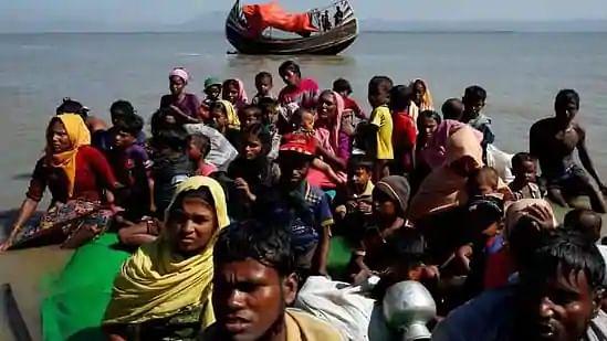 अंडमान सागर में भूखे-प्यासे मरने को मजबूर थे रोहिंग्या मुस्लिम, भारतीय तटरक्षकों ने दिखायी दरियादिली, 81 को बचाया