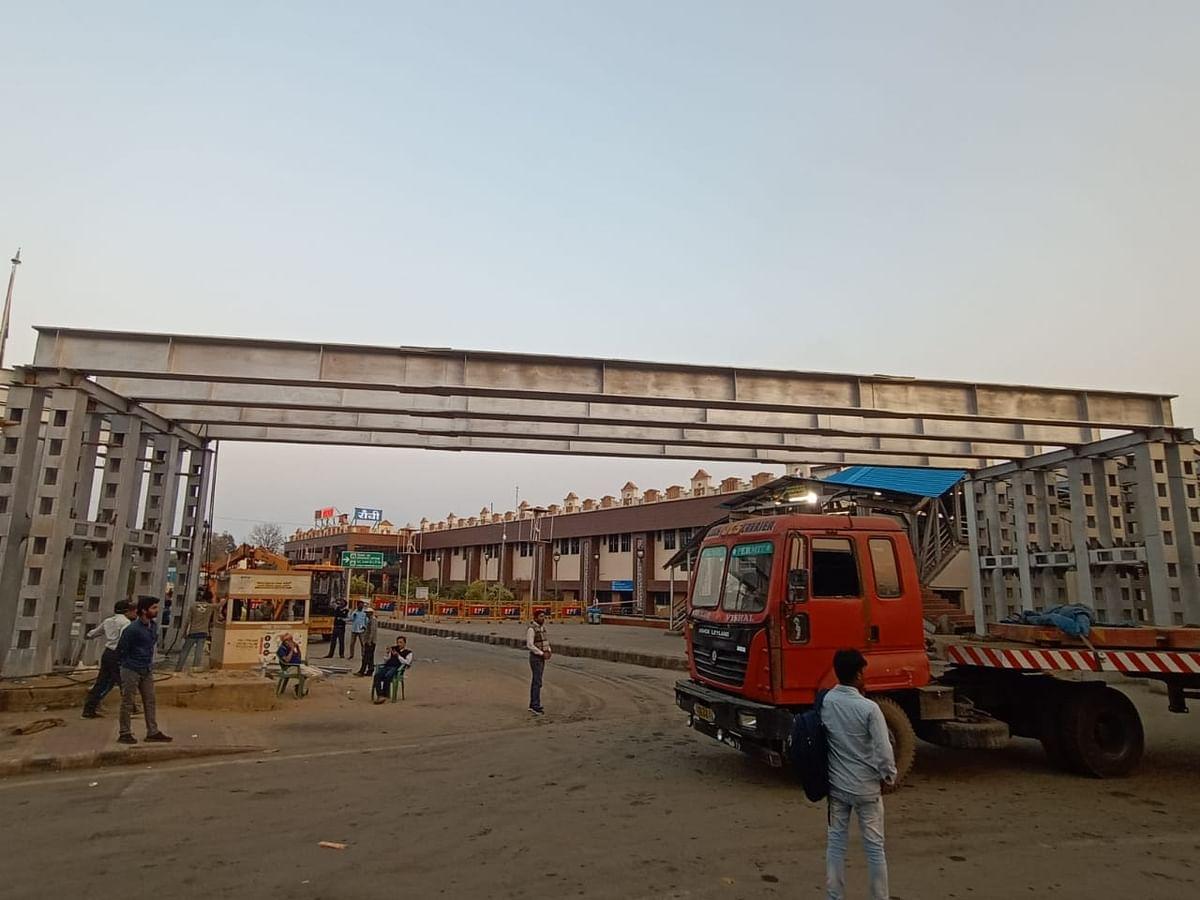Indian Railways News : रांची रेलवे स्टेशन पर बढ़ रही हैं यात्री सुविधाएं, फुट ओवरब्रिज का हो रहा निर्माण, यात्रियों को ये होगा फायदा