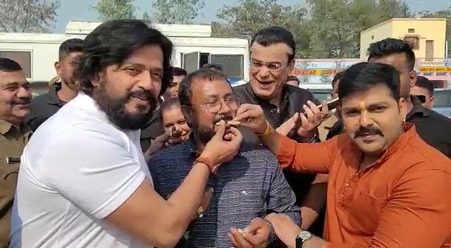 1.51 करोड़ में बिका फिल्म 'मेरा भारत महान' का सेटेलाइट राइट, बोले रवि किशन- सड़क, सिनेमा और संसद से परिवर्तन