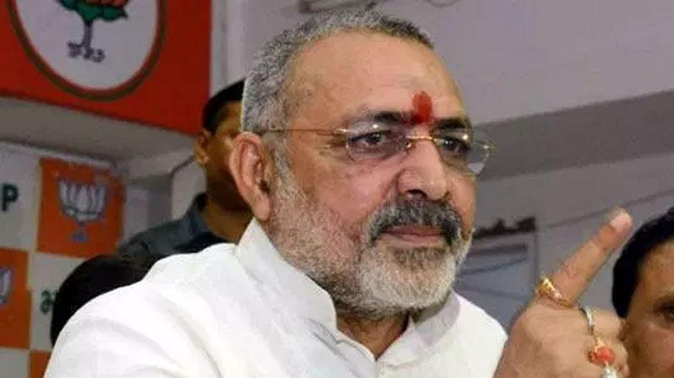 Disha Ravi Case: विपक्ष ने दिशा रवि की उम्र का दिया हवाला तो केंद्रीय मंत्री गिरिराज सिंह ने पूछा- अजमल कसाब की उम्र क्या थी?