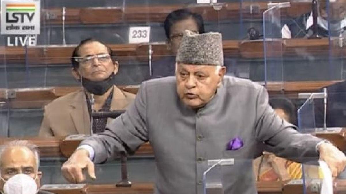 'हमें पाकिस्तानी कहते हैं, खालिस्तानी कहते हैं, चीनी कहते हैं... कल आप पावर में नहीं रहे तो'...संसद में बोले फारूक