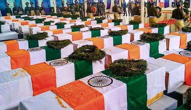Pulwama attack : सीआरपीएफ जवानों के शहीद होने की दूसरी बरसी पर नम हुईं देश की आंखें, शाम को निकलेगा कैंडल मार्च