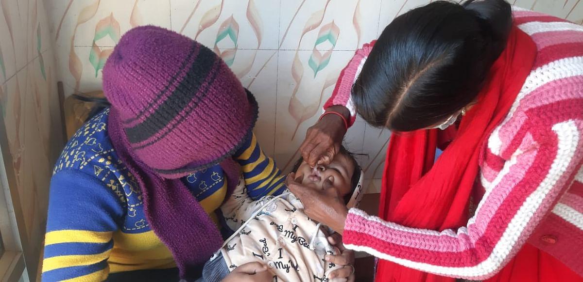 बिहार में पोलियो रोधी खुराक पिलाने का अभियान 26 से, दो करोड़ बच्चों को दी जायेगी दो बूंद जिंदगी की