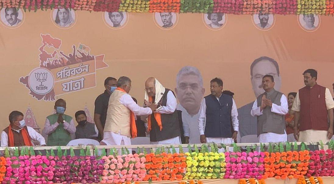 TMC का एक ही नारा- 'भतीजे का कल्याण', मोदी सरकार का नारा- 'सबका साथ-सबका विकास', बंगाल में बोले अमित शाह