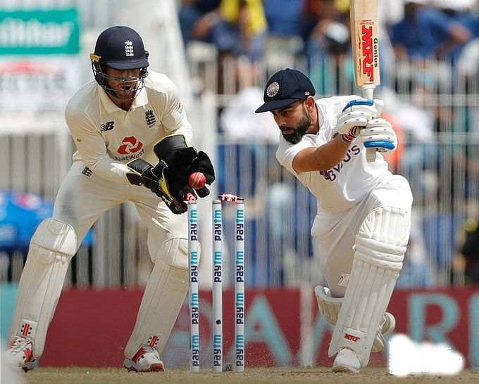 India Vs England Test : चेन्नई टेस्ट में लय में दिखे विराट कोहली, पूरा किया अपना 25वां टेस्ट अर्धशतक