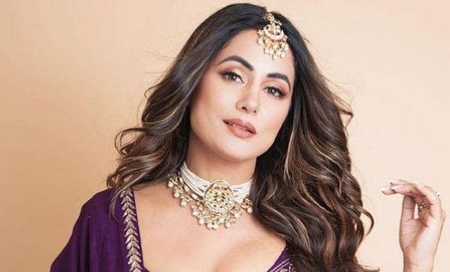 हिना खान पर्पल ड्रेस में दिखीं बेहद स्टनिंग, सोशल मीडिया पर वायरल हो रही इन तसवीरों पर दिल हार बैठे फैंस