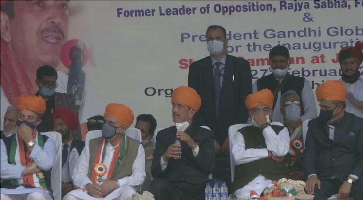 Congress Rebel : भगवा पगड़ी में दिखे कांग्रेस के बागी, G-23 ने फिर खोला सोनिया-राहुल के खिलाफ मोर्चा, कहा - हम बताएंगे क्या है कांग्रेस