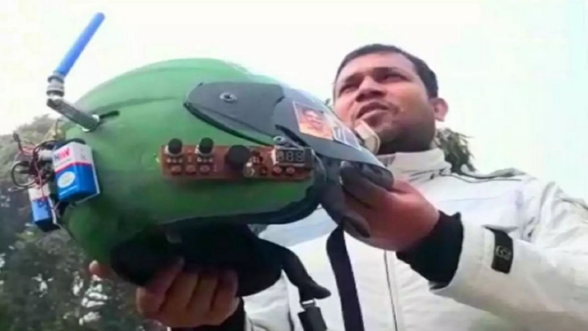 Smart Helmet सीमा पर जवानों को करेगा अलर्ट, दुश्मन पर चलाएगा गोलियां, PM मोदी की तस्वीर देख बोलता है वंदे मातरम