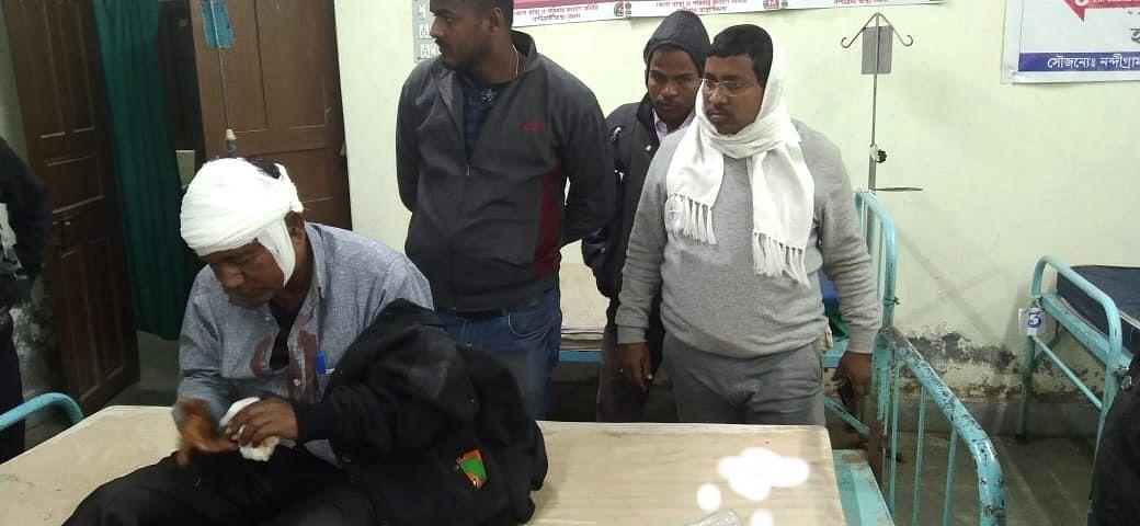 West Bengal Election 2021: हल्दिया में प्रधानमंत्री मोदी की रैली से पहले भाजपा कार्यकर्ताओं पर हमला