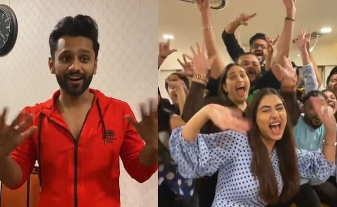 VIDEO : Bigg Boss 14 के घर से बाहर आकर राहुल वैद्य ने दिशा संग की जबरदस्त पार्टी, बोले- Pawri Ho Rahi Hai