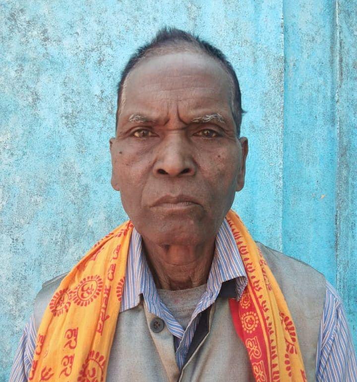 बीएसएफ से सेवानिवृत्त बुधराम राम