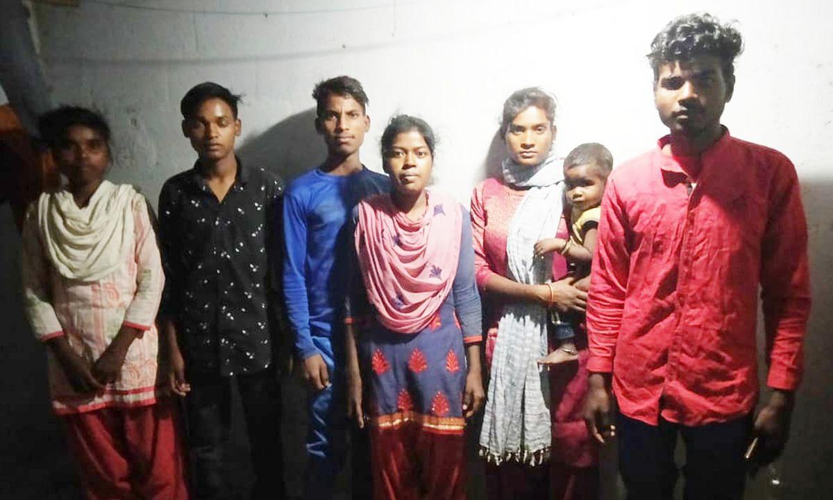 तमिलनाडु में बंधक गुमला के 6 मजदूर हुए मुक्त, 14 फरवरी को लौटेंगे झारखंड