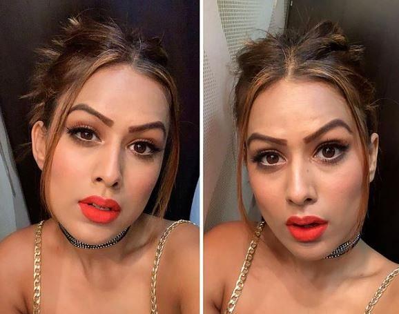 बिकिनी के बाद निया शर्मा का ब्लैक ड्रेस में हॉट अंदाज, रात में बीच सड़क पर बनाया ये VIDEO, आपने देखा?