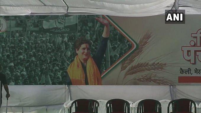 Priyanka Gandhi अब से कुछ देर में करेंगी किसान महापंचायत को संबोधित, ये है रणनीति