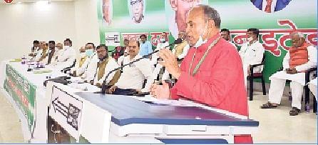 जदयू के अध्यक्ष आरसीपी सिंह ने पार्टी को बताया मां, कार्यकर्ताओं से बोले- रखेगी सबका ध्यान