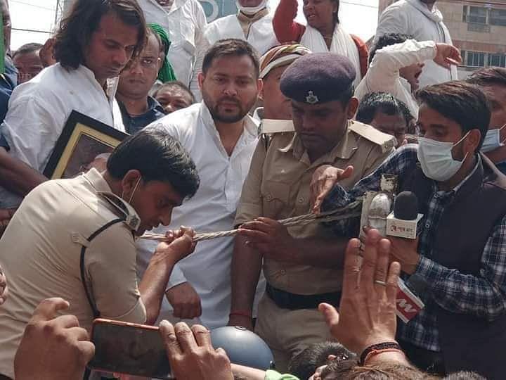 Bihar Assembly Protest: RJD कार्यकर्ताओं पर लाठीचार्ज के बाद तेजस्वी ने नीतीश सरकार को दी चुनौती, कहा- चलाओ गोली ....