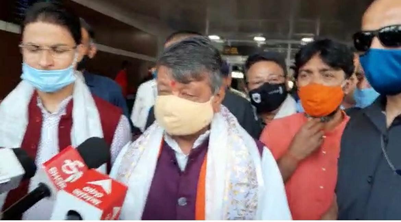 Bengal Election 2021: सिलीगुड़ी में BJP प्रभारी कैलाश विजयवर्गीय, कहा- बंगाल में TMC की खिसकी जमीन