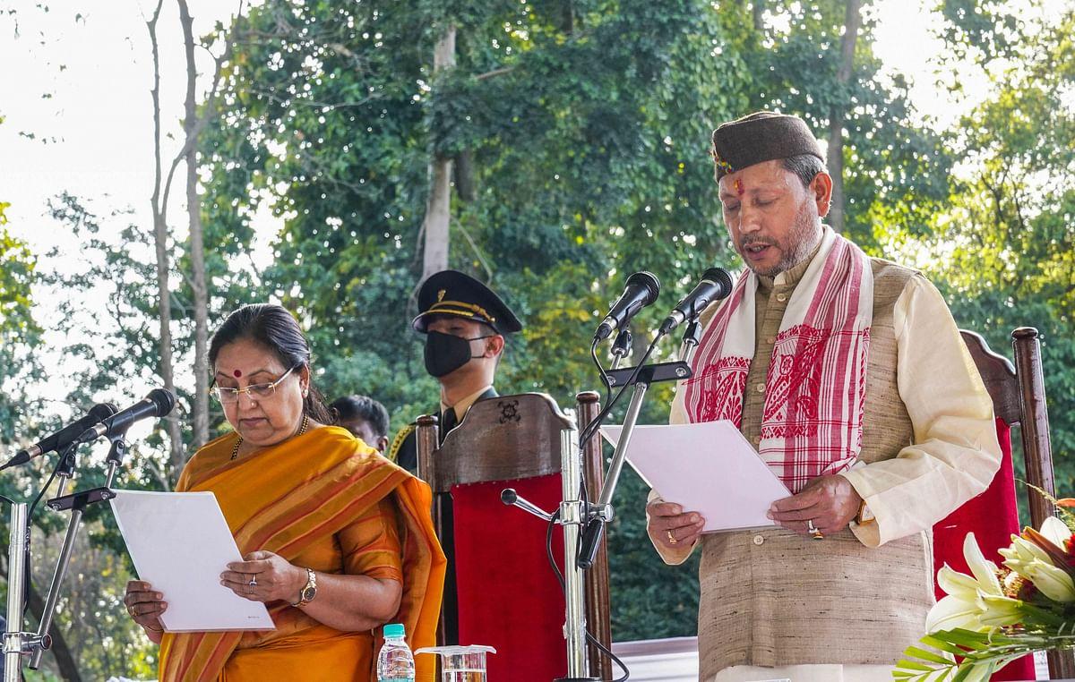 Uttarakhand News : 2017 में तीरथ सिंह को भाजपा ने नहीं दिया था टिकट, 4 साल बाद बन गये मुख्यमंत्री