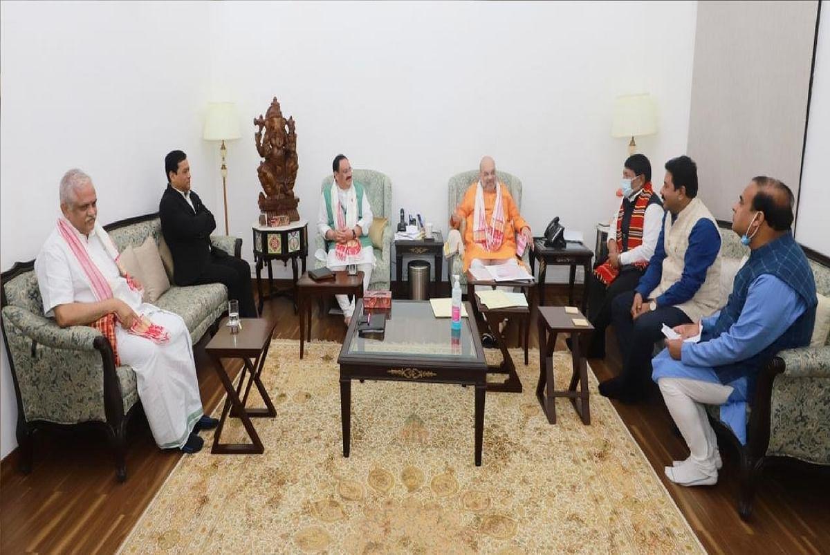 Assam Election 2021 : असम में सहयोगी दलों के साथ सीटों के बंटवारे को अंतिम रूप देने में जुटी भाजपा, शाह के अवास पर हुई हाईलेवल मीटिंग