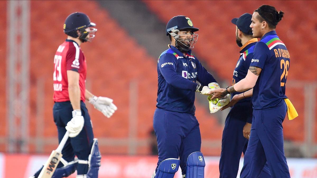 IND vs ENG T20 Live Score Update : भारत ने रोमांचक मुकाबले में इंग्लैंड को 8 रन से हराया, सीरीज 2-2 से बराबर