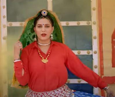 सपना चौधरी का 'छम्मक छल्लो' गाना बना सुपरहिट, देसी क्वीन का VIDEO सोशल मीडिया पर वायरल