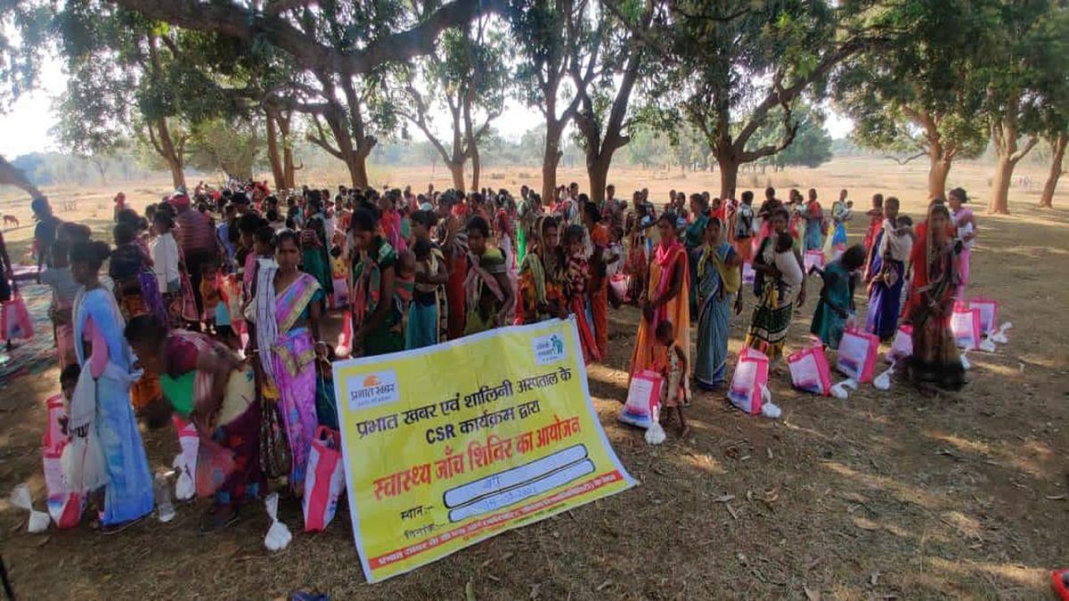 झारखंड से कुपोषण खत्म करने को लेकर स्वास्थ्य जांच शिविर का आयोजन, 150 गर्भवती महिलाएं हुई शामिल, किया जागरूक