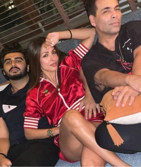 अमृता अरोड़ा की पार्टी में मलाइका संग कुछ यूं दिखे अर्जुन कपूर, INSIDE PHOTOS