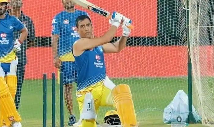 IPL 2021: ट्रेनिंग के दौरान धौनी ने गेंद को पहुंचाया स्टेडियम के बाहर, लगाए बड़े-बड़े छक्के, देखें VIDEO