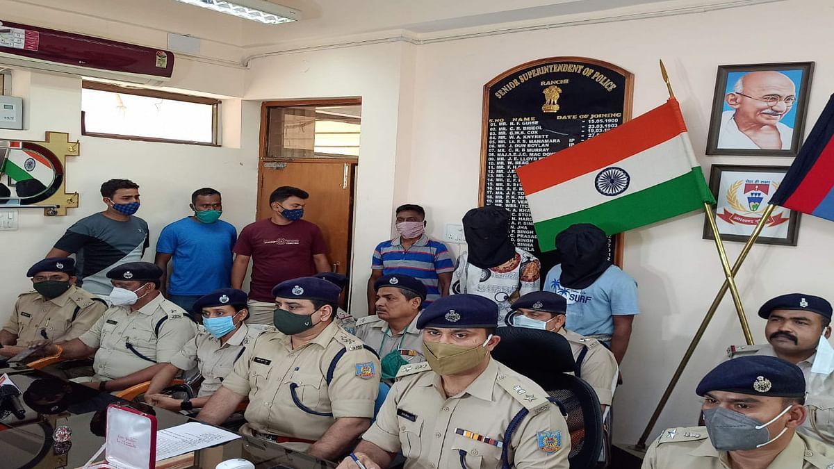 Jharkhand Crime News : 24 घंटे के अंदर रांची में दारोगा को गोली मारने के मामले में 2 आरोपियों की गिरफ्तारी, दोनों का आपराधिक रिकॉर्ड, पढ़ें पूरा मामला