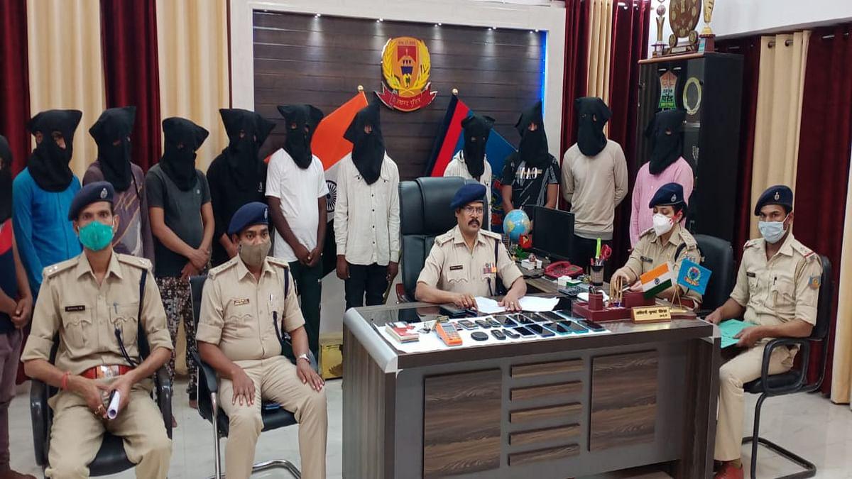 Jharkhand Cyber Crime News : देवघर में 2 CSP संचालक समेत 11 साइबर क्रिमिनल गिरफ्तार, जानें कैसे करते थे ठगी