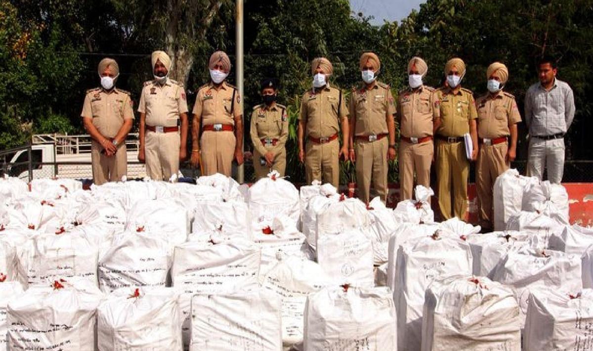 पंजाब पुलिस ने ड्रग्स के बड़े रैकेट का खुलासा किया, 54 करोड़ के सिरप और 67 लाख नशीले टैबलेट बरामद