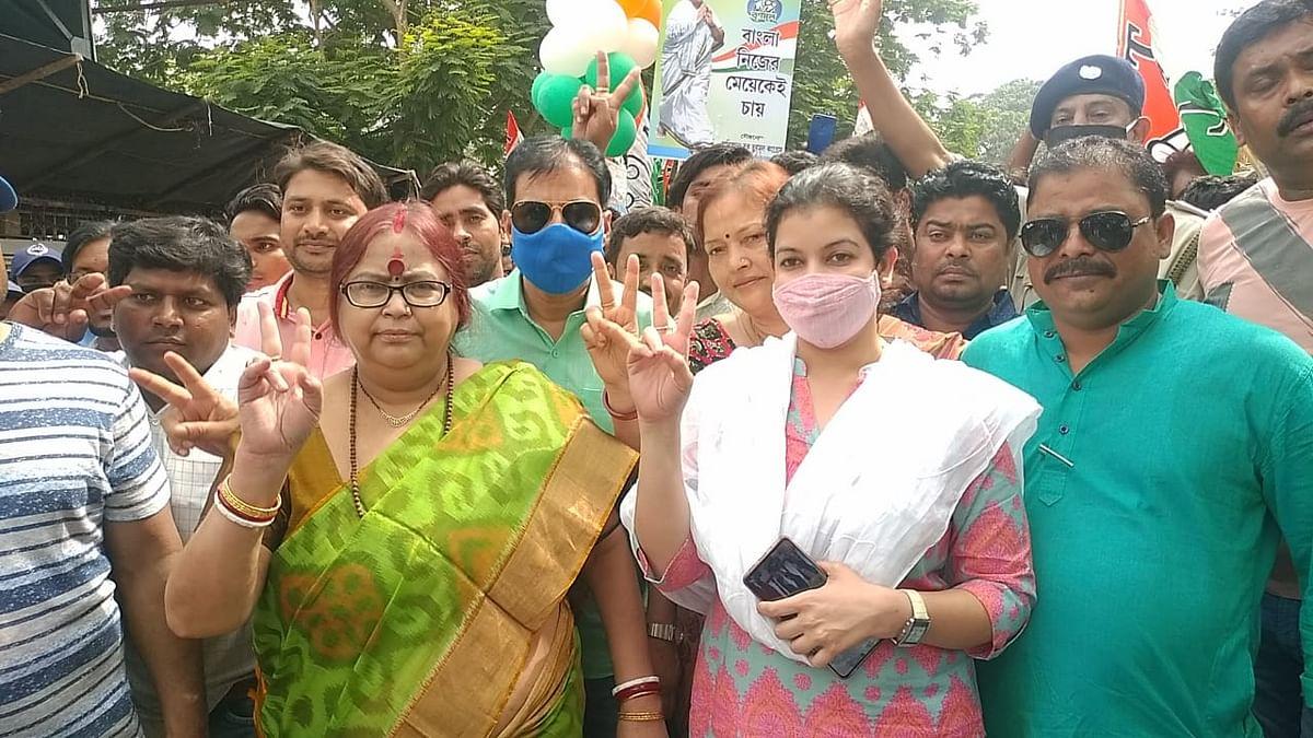 Bengal Chunav 2021: दुर्गापुर में एसयूसीआई के प्रत्याशियों ने भरा पर्चा