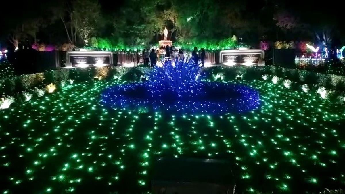 Jharkhand news : जगमग हुआ जुबली पार्क.