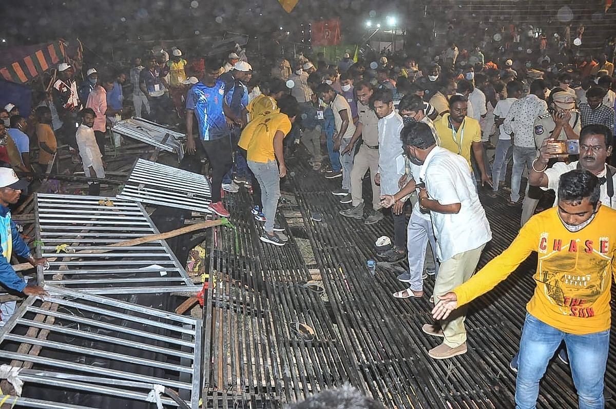 तेलंगाना : कबड्डी टूर्नामेंट से पहले टूटा स्टैंड, 100 लोग घायल