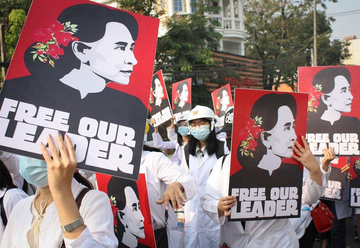 म्यांमार में हिंसा : प्रदर्शनकारियों पर सेना की सबसे बड़ी कार्रवाई, फायरिंग  में 18 लोगों की मौत, भारत ने कही यह बात