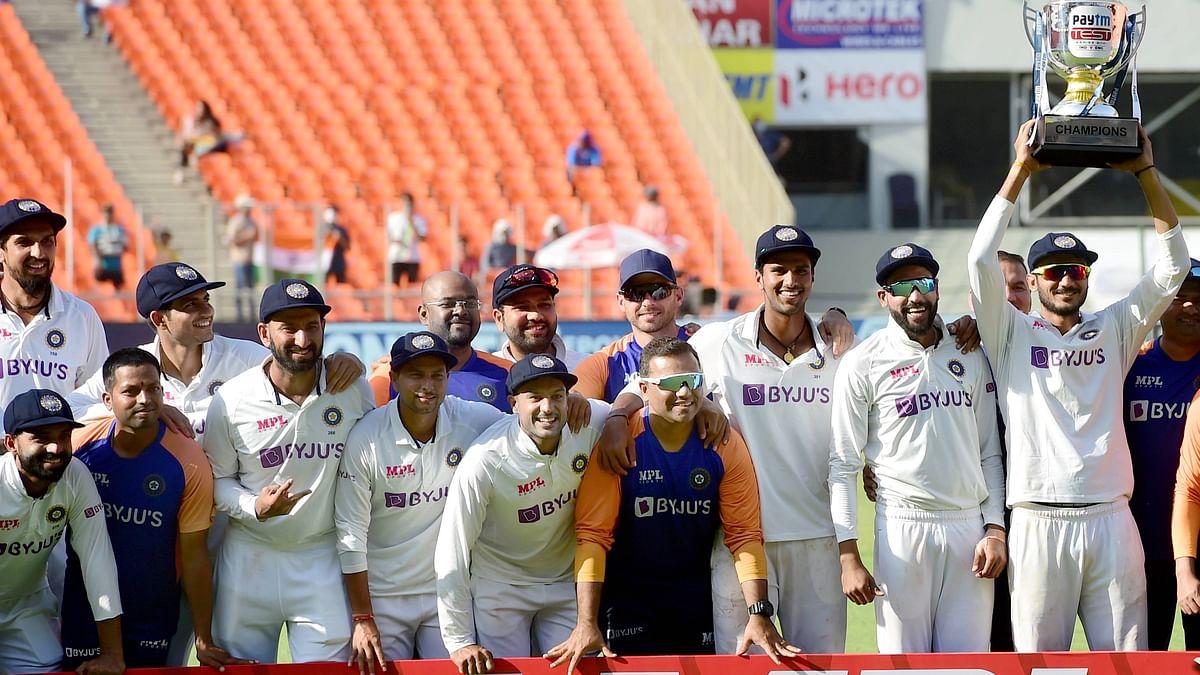 ICC Test Team Rankings : इंग्लैंड को रौंदकर भारत ICC रैंकिंग में टॉप पर, वर्ल्ड टेस्ट चैंपियनशिप के फाइनल में न्यूजीलैंड से होगी भिड़ंत