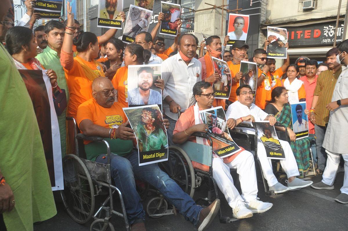 भाजपा ने राजनीतिक हिंसा के शिकार अपने 130 कार्यकर्ताओं को ऐसे दी श्रद्धांजलि