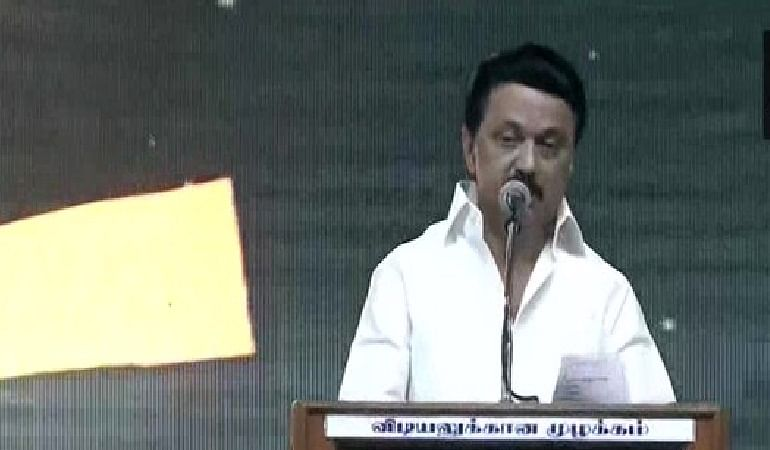 Tamil Nadu Assembly Election 2021 : स्टालिन ने सभी राशन कार्डधारक गृहिणी को 1000 रुपये प्रति माह देने का किया ऐलान