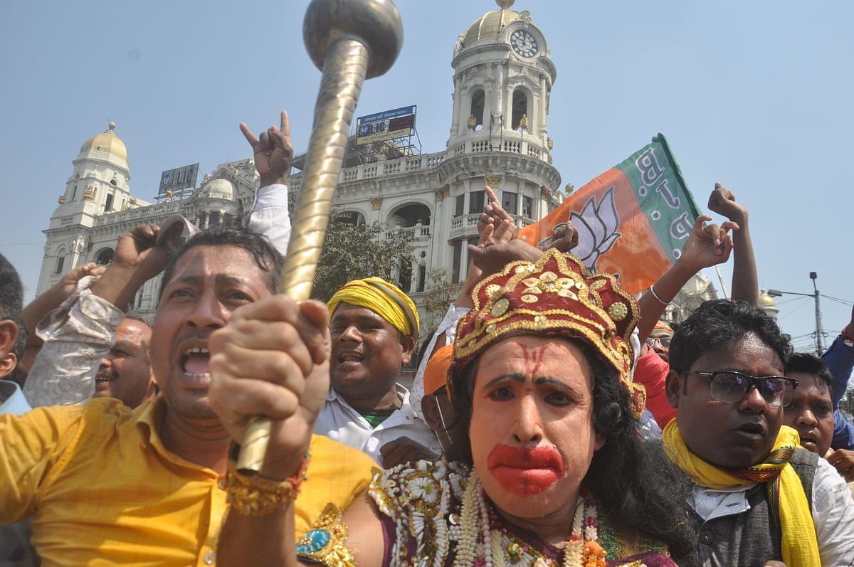 कोई बना 'हनुमान', किसी ने सीने पर लिखा 'जय श्री राम', PM मोदी के जबरा फैंस