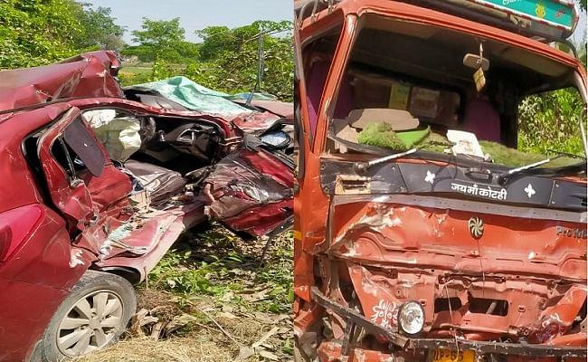 BREAKING: भीषण सड़क हादसे का शिकार हुआ होली मनाने दिल्ली से बिहार लौट रहा परिवार, चार लोगों की मौत