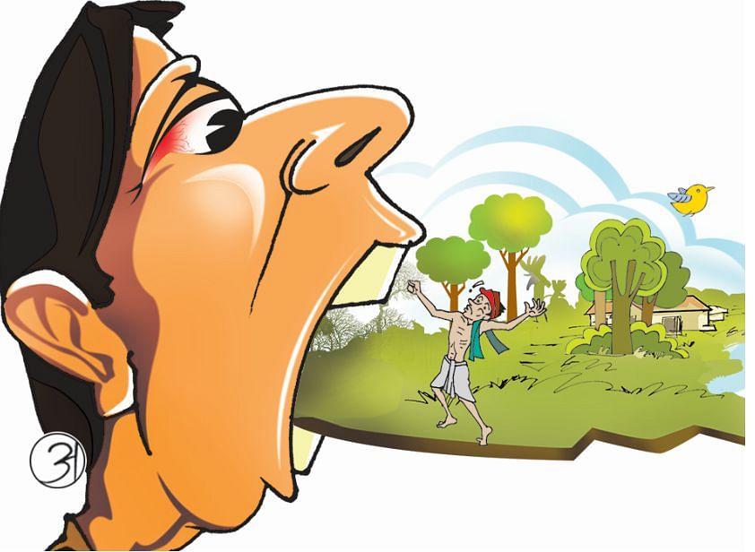 सरकारी जमीन की लूट, सीओ ने 352 एकड़ जमीन की कर दी बंदोबस्ती, अब हो रही कार्रवाई की अनुशंसा