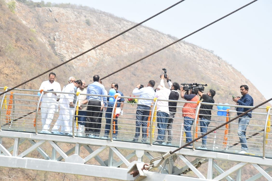 Rajgir:  बिहार के नाम जुड़ा नया अध्याय, अब राजगीर में Glass Bridge से करें जू-नेचर सफारी का दीदार, प्रवेश शुल्क की सूची देखिए